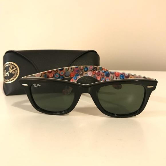 96bbf0e38c9cc Limited Edition Ray-Ban Wayfarer Sunglasses. M 5a94b7b700450f4d7333f155